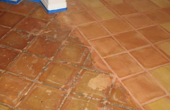 Tile Cleaning Miami Beach Before After